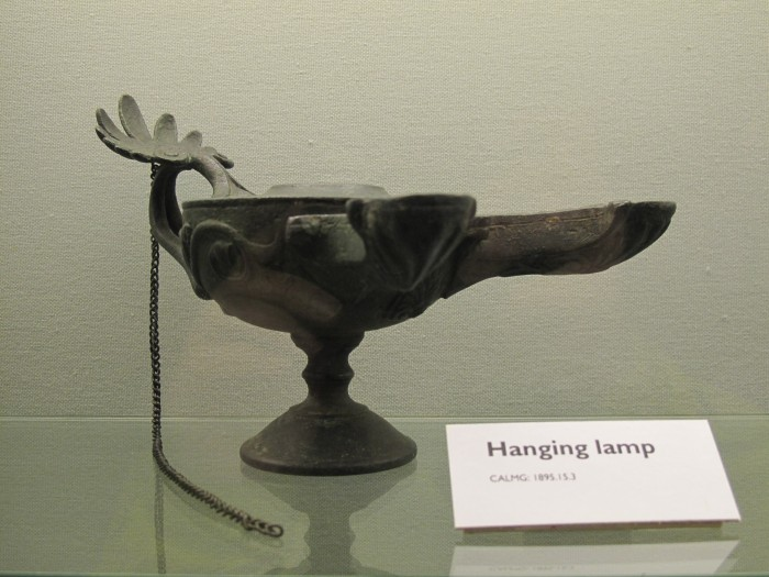 Hanging Lamp in Tullie House Museum