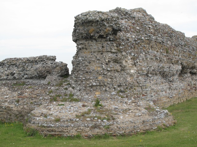 Bastion of Fort at Richborough