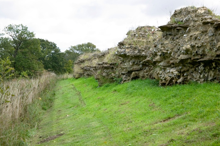 Silchester North Wall
