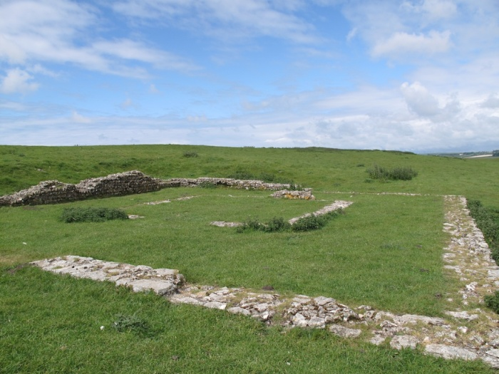 Maiden Castle Roman Temple