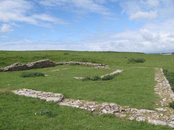Maiden Castle Roman Temple