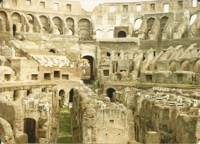 Interior of the Colisseum
