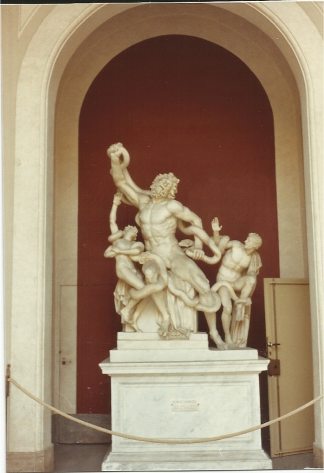 Laocoon in the Vatican Museum