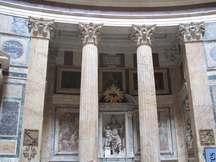 Yellow Numidian Marble Columns and Pilasters