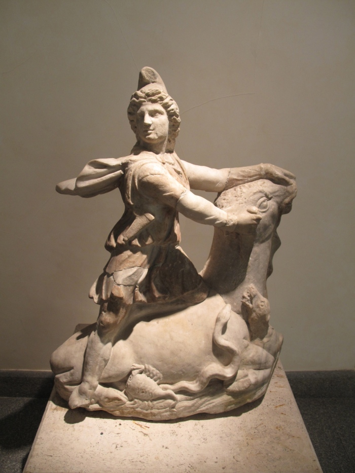 Carving of Mithras - Tauroctomy