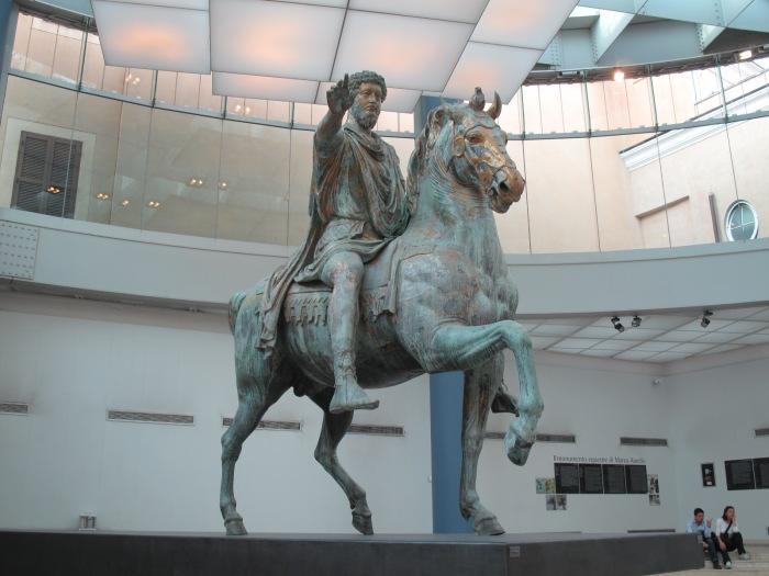Original Equestrian Statue of Marcus Aurelius