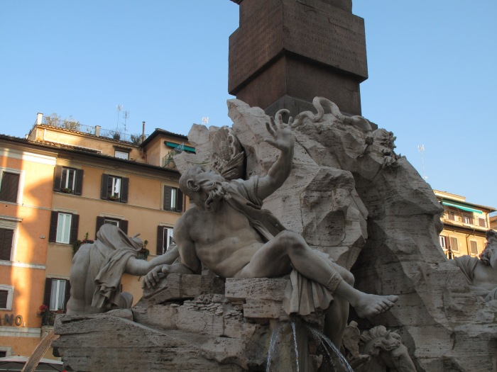 Piazza Navona - Bernini's Four Rivers Fountain