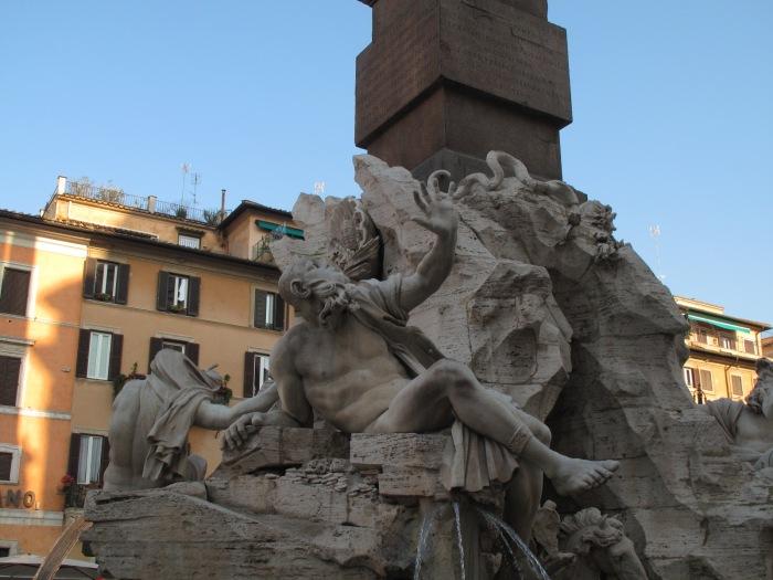 Piazza Navona - Bernini's Four Rivers Fountain