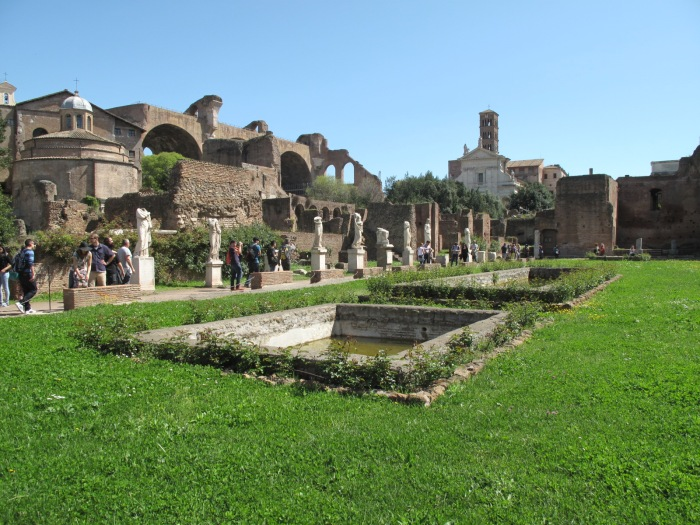 Atrium of the House of the Vestal Virgins