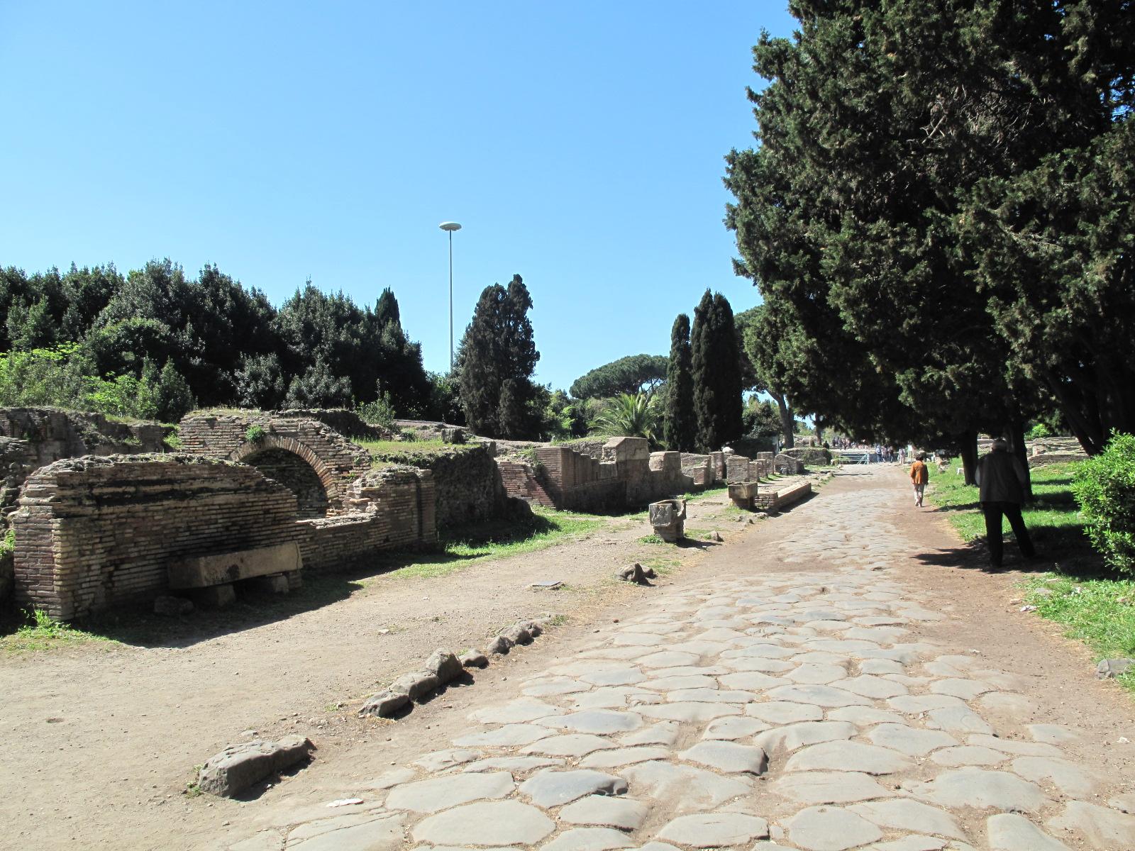 Road into Ostia