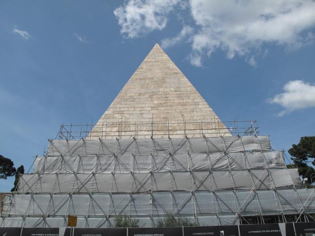 Pyramid of Caius Cestius