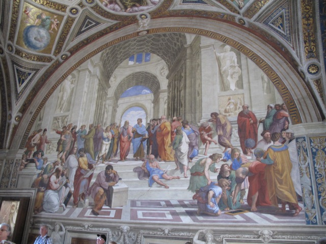 School of Athens, Rafael