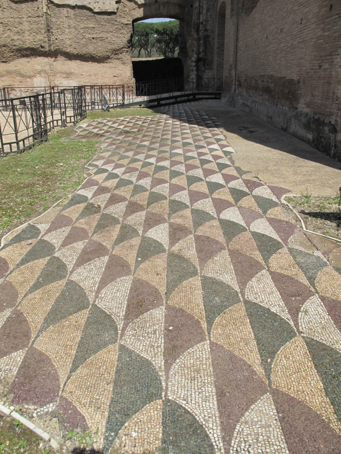 14 Baths of Caracalla Mosaic