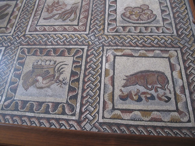18 2nd Century Palestrina Mosaic