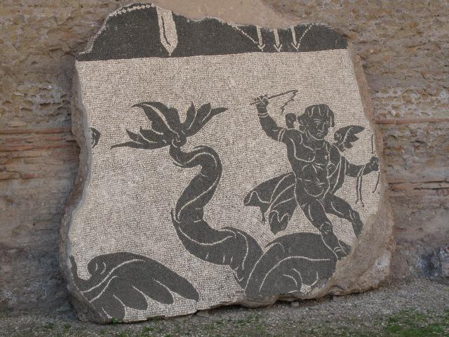 26 Baths of Caracalla Mosaic Fragment