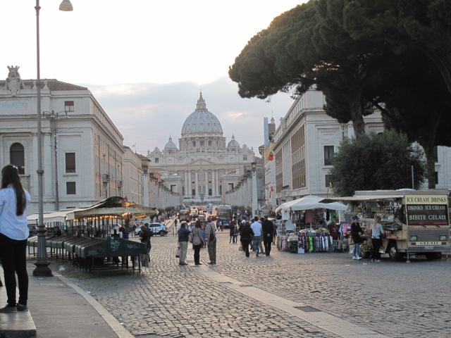 St. Peter's from Castel Sant Angelo