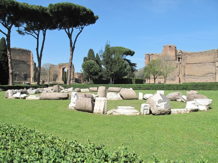 37 Baths of Caracalla Fragments