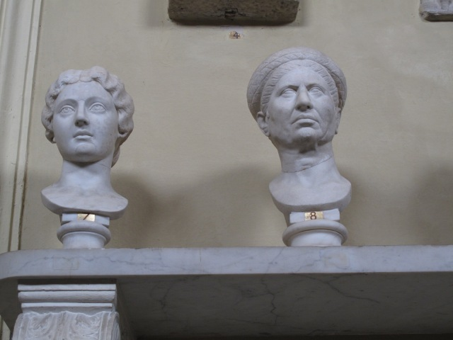 45 Roman Busts 8, 7 Faustina the Younger