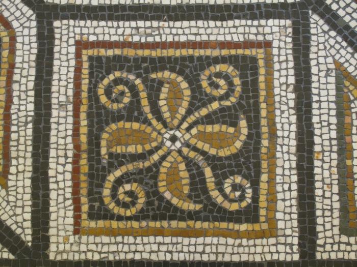 Sala Aldobrandine Mosaic Detail