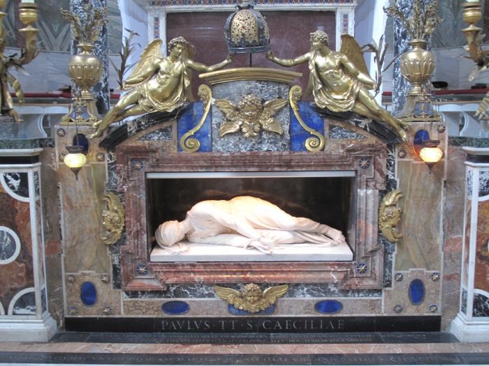 Tomb of Santa Cecilia