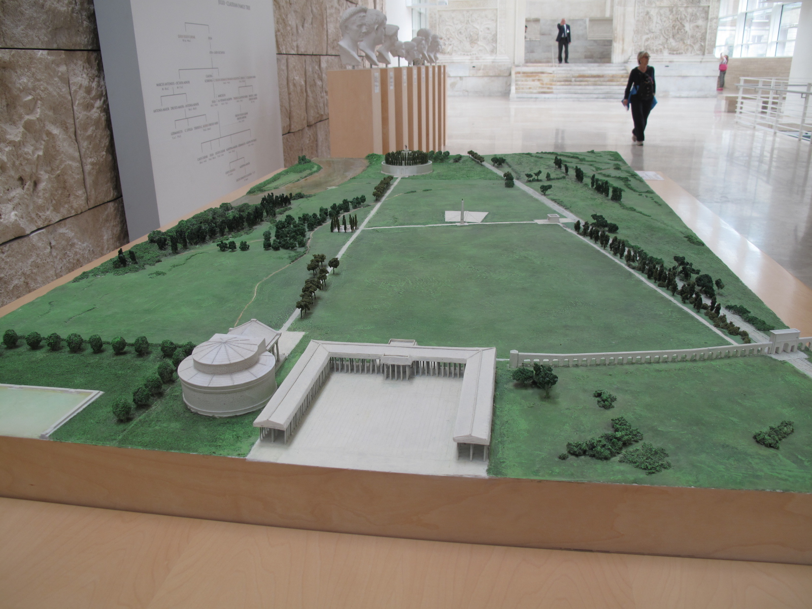 Model of the Campus Martius