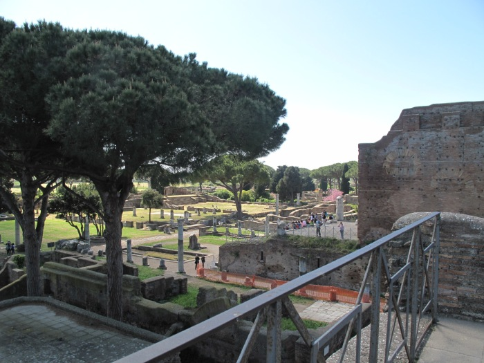 View of Ostia's Forum
