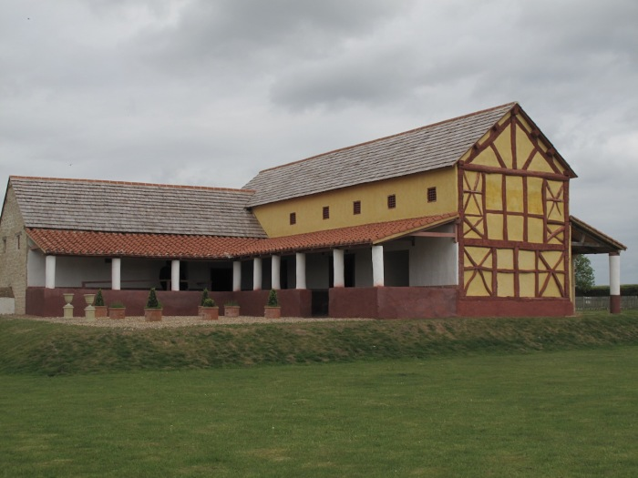 Reconstructed Roman Town House