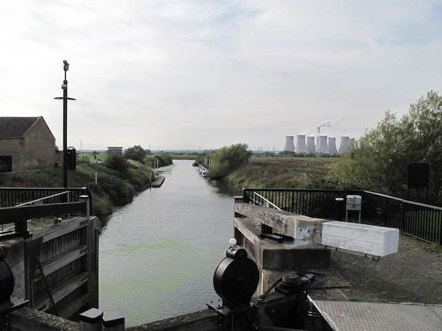 Fosse Dyke at Torksey Lock - towards the River Trent