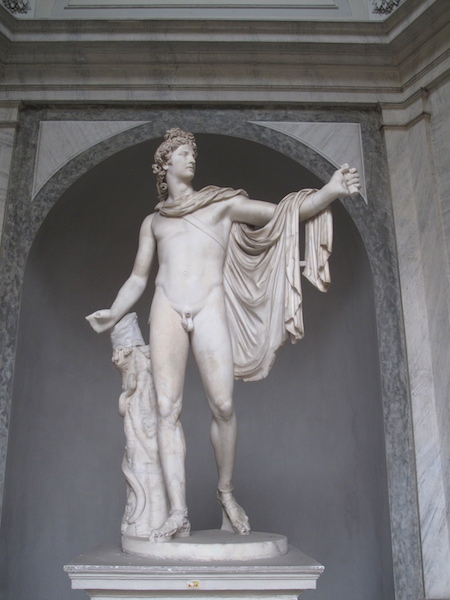 Apollo Belvedere in Vatican Museum