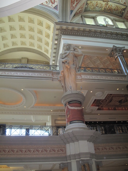 Interior of the Forum Shops