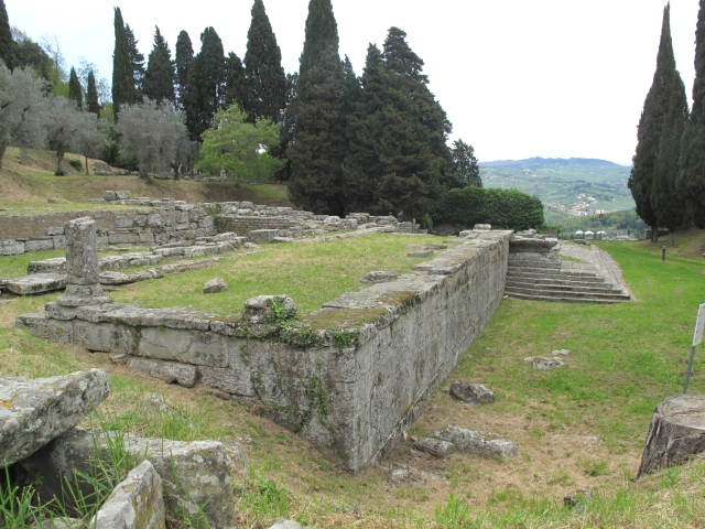 Etruscan and Roman Temples Fiesole