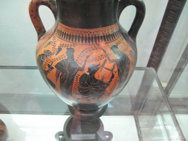 Red Figure Amphora Fiesole
