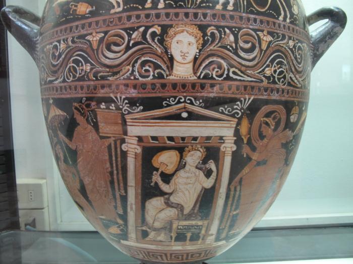 Red Figure Amphora Fiesole