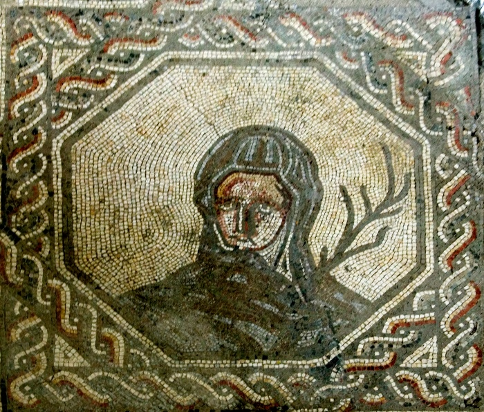 Winter Mosaic from Bignor Villa