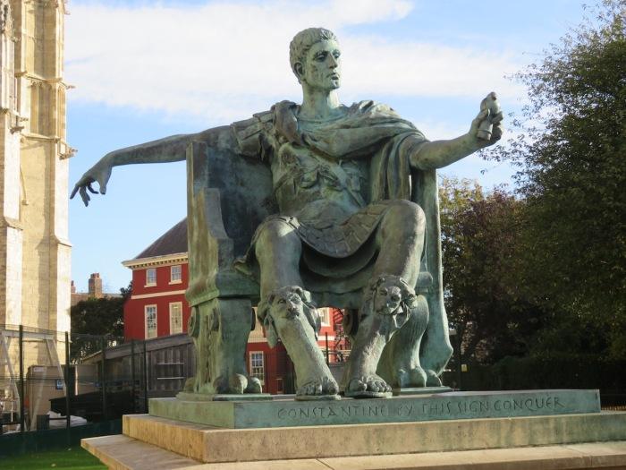 30 York Constantine statue copy